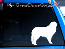 Pyrenean Mountain Dog -Vinyl Decal Sticker -Color Choice -High Quality