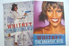 "Whitney Houston ""Greatest Hits"" Australian Promo Poster - 2-Sided Large Version!"