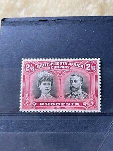 RHODESIA - BRITISH SOUTH AFRICA COMPANY SG 155a