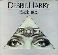 BLONDIE  Backfired / Military Rap  45 with PicSleeve  DEBBIE HARRY