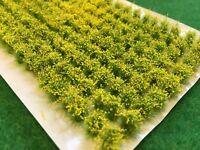 Rapeseed Crops - Model Scenery Static Grass Tufts N-Gauge Railway Rape Oilseed