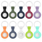For Airtag Locator Protective Case Silicone Shell Cover Sleeve With keychain