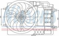 Radiator Fan Assy 85124 Nissens North America