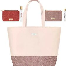 Jimmy Choo Blush Extra Large Tote Bag I Want Choo & Fever Travel Sprays Pouches