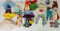 Mixed Lot Vintage Barbie Clothes Dress Outfit 42 Pieces for Repair