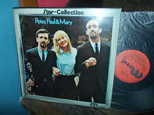Peter, Paul & Mary : Star Collection -best of) / WEA Midi stereo 1973 UK LP VG+