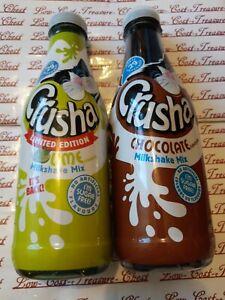 2 Crusha Milkshake Lime & Chocolate