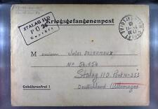 Camp Stalag IID Stargard 1940 POW Prisoner of War Kriegsgefangenenpost L26