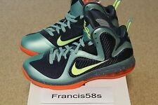 Nike LeBron 9 Cannon Size 10.5 DS Pre-Heat Green Volt Cheap Shoes Basketball