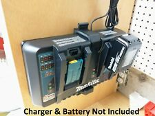 Makita DC18RD 2-Battery Charger Wall Mount / Holder