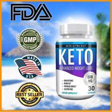 "☀Keto Diet Pills Burn Fat- Advanced Ketosis Weight Loss ""PURE KETO"" FAST KETOSIS"
