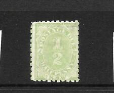 NEW SOUTH WALES 1891-92    1/2d  POSTAGE DUE  MH   P10   SG D1
