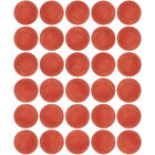 Mini Ping Pong Table Tennis Ball 100 Pack All Red 31mm 1.25 Inch Arts  Crafts