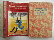 Baron Munchausen and Other Comic Tales from German, R E Raspe, 1971