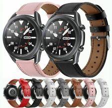 Cuero genuino reloj banda correa para Samsung Galaxy Reloj activo 2 40 42 44mm