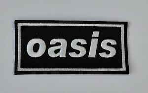 Oasis Embroidered Patch