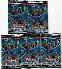 YU-GI-OH - GENERATION FORCE - BOOSTER PACKS (5 PACK LOT) -NEW SEALED