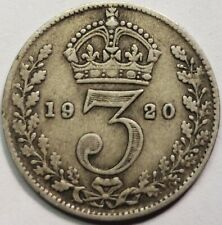 More details for 1920-1936 silver threepences