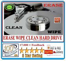 Erase Wipe Format Delete Destroy Clean Drive Data -Disk Eraser Cleaner Download