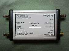 Calibrated RF Signal Generator 35MHz to 4.4GHz via USB - Stand Alone Capability