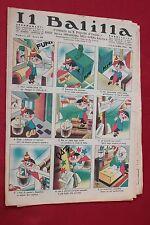 rivista a fumetti IL BALILLA Supplemento Popolo d'Italia ANNO XII N.49 (1934)