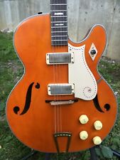 Silvertone 1446 Country Fried Orange Vintage Electric Guitar