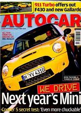 AUTOCAR - 2 August 2006 - We Drive Next Year's Mini