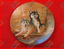 """Its a Dogs Life """"Lodging A Complaint"""" Collectors Plate by Knowles"""