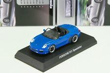 Porsche 911 Speedster 997 Blue 1/64 Kyosho Minicar Collection 5 Japan 2013