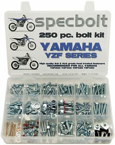 Yamaha Bolt Kit For YZ450F YZ250R WR250F WR450F Specbolt plastics engine brake..