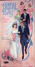 Vintage Uncut 1966 Bridal Party Paper Dolls~#1 Reproduction~Wonderful Set!