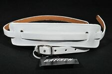 GRETSCH SKINNY LEATHER GUITAR STRAP WHITE NEW