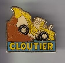 RARE PINS PIN'S .. AGRICULTURE TRACTEUR TRACTOR BTP TRACTO PELLE CLOUTIER ~C3