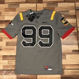 Nike Air Force Red TailS Alternative Football Jersey DB5549-002 Size Small