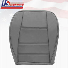 2002 2003 2004 Ford Mustang V6 Front Driver Side Bottom Leather Seat Cover Gray