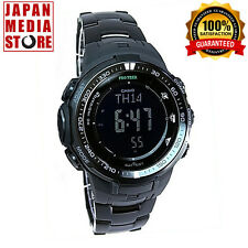 CASIO PRO TREK PRW-3000YT-1JF Black Titanium Limited JAPAN PRW-3000YT-1