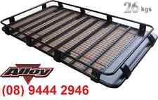 TOYOTA 100 SERIES LAND CRUISER Alloy Cage Roof Rack FULL LENGTH BACKBONE RACK