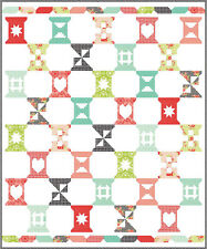 MODA Fabric ~ SPOOL SAMPLER QUILT KIT ~ by Bonnie & Camille