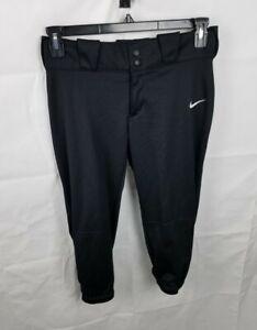 Nike Diamond Invader 3/4 Softball Pants Black 812572-010 Womens Size Medium