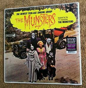 The Munsters Decca Purple Colored Vinyl LIMITED Edition 700 Copies New Sealed