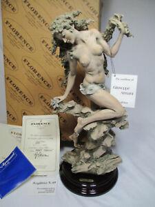 "New Giuseppe Armani Florence ""Spring Herald"" Figurine Limited Edition 1993"