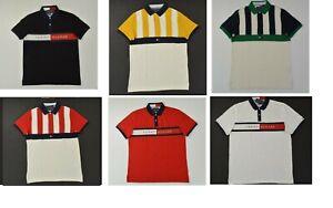 NWT Men's Tommy Hilfiger Short-Sleeve Polo Shirt Slim Fit XS - 3XL XXXL