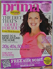 Prima Magazine February 2010. The diet that's good for you! Lose 7ilb in 4 weeks