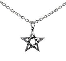 Pentagram Pendant - Alchemy Gothic Pentacle Amulet/Talisman