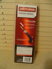 New listing New Factory Sealed Craftsman pinpoint Burner 54291 Soft Soldering Torche