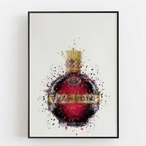 P0141 | Liqueur Bottle | Wall Art Print | Poster | Liquor | Bar | Restaurant