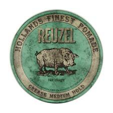 Reuzel Green Pomade 113g Medium Hold Grease - UK STOCKIST - Free Delivery