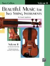 Beautiful Music for Two String Instruments, Bk 2: 2 Cellos, , Applebaum, Samuel,