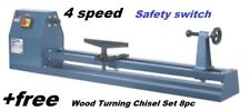 Wood Lathe  1000mm    Woodworking +Free Turning Chisels in case