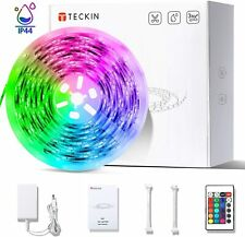 Tiras LED RGB, Tiras LED, TECKIN 5M LED TV Retroiluminación Tira, RGB 5050 Luz